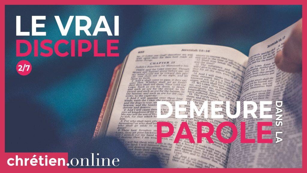 vrai disciple
